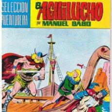 Tebeos: EL AGUILUCHO. NUMERO 3. DERROTA VERGONZOSA. REEDICION VALENCIANA 1981. Lote 42534485