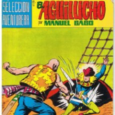 Tebeos: EL AGUILUCHO. NUMERO 21. LUCHA A MUERTE EN EL MAR. REEDICION VALENCIANA 1981. Lote 42534625