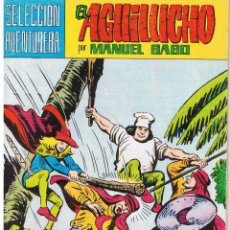 BDs: EL AGUILUCHO. NUMERO 29. ACECHANDO EN LA NOCHE. REEDICION VALENCIANA 1981. Lote 42534658