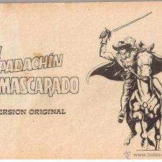 Tebeos: EL ESPADACHIN ENMASCARADO. LOTE DE 30 CUADERNILLOS SIN PORTADA PARA ENCUADERNAR. VALENCIANA 1981. Lote 42535634