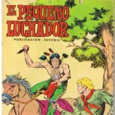 Tebeos: EL PEQUEÑO LUCHADOR. NUMERO 11. REEDICION VALENCIANA 1977. Lote 42536689