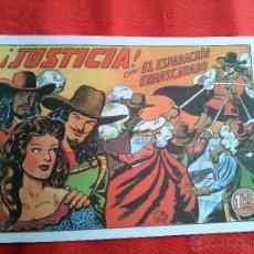 Tebeos: EL ESPADACHÍN ENMASCARADO , ¡JUSTICIA!(FACSÍMIL). Lote 42540089
