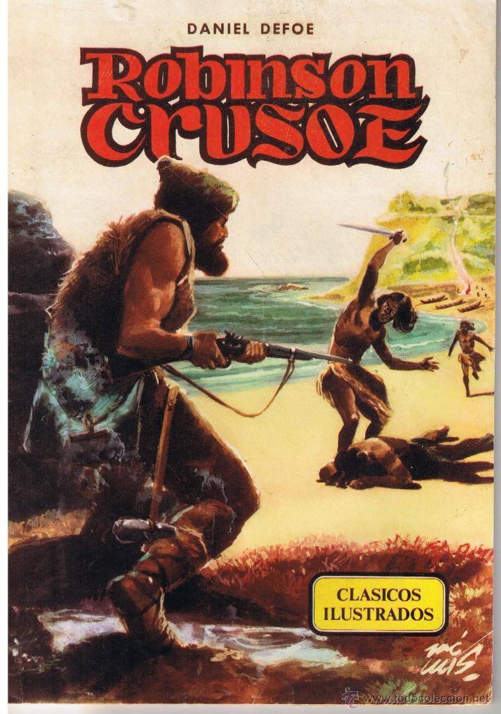CLASICOS ILUSTRADOS. NUMERO 3. ROBINSON CRUSOE. VALENCIANA 1984 (Tebeos y Comics - Valenciana - Otros)