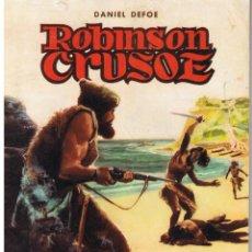 Tebeos: CLASICOS ILUSTRADOS. NUMERO 3. ROBINSON CRUSOE. VALENCIANA 1984. Lote 42556967