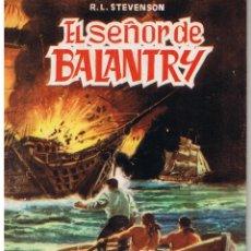 Tebeos: CLASICOS ILUSTRADOS. NUMERO 5. EL SEÑOR DE BALANTRY. VALENCIANA 1984. Lote 42556989