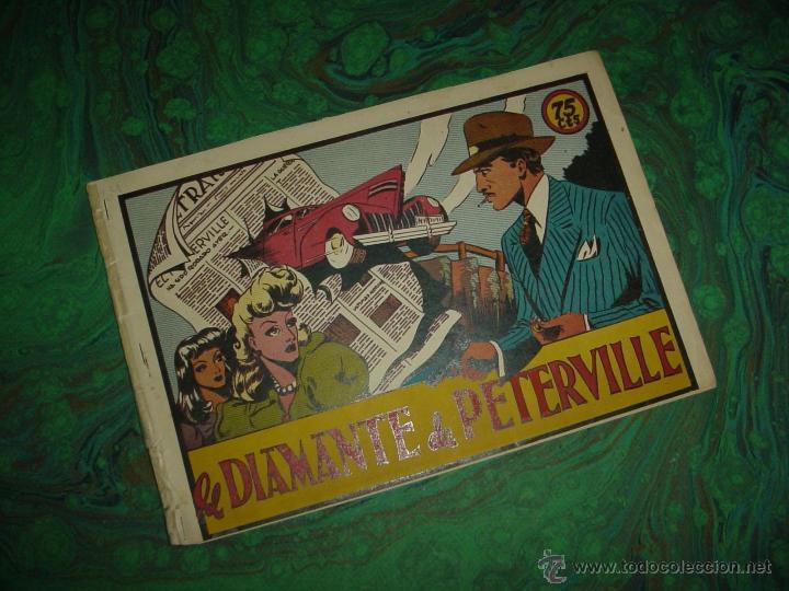 SELECCION AVENTURERA (VALENCIANA - 1941) .... Nº LOS DIAMANTES DE PETERVILLE (Tebeos y Comics - Valenciana - Selección Aventurera)