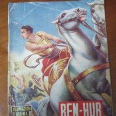 Tebeos: BEN-HUR ADAPTACIÓN GRÁFICA PARA LA JUVENTUD. LEWIS WALLACE. EDITORIAL VALENCIANA 1960. Lote 42651555