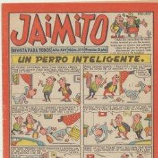 Tebeos: JAIMITO 519. VALENCIANA 1945. . Lote 42669815
