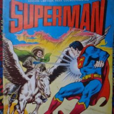 Tebeos: SUPERMAN , EL DESAFIO DE TERRAMAN , ALBUM GIGANTE , EDICION LIMITADA , VALENCIANA , ORIGINAL , A. Lote 45587768