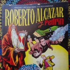 Tebeos: ROBERTO ALCAZAR Y PEDRIN, LAS PUERTAS. ,ALBUM GIGANTE , EDICION LIMITADA , VALENCIANA , ORIGINAL , A. Lote 56542025