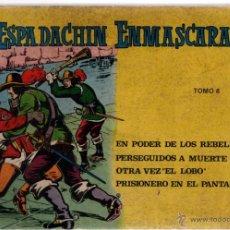 Tebeos: EL ESPADACHIN ENMASCARADO TOMO 8. Lote 42798110