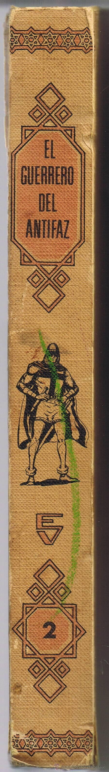 Tebeos: EL GUERRERO DEL ANTIFAZ - TOMOS 1 - 2 - 3 - 4 - 5 - 6 - EDIT VALENCIANA - 1972 - - Foto 8 - 42932207
