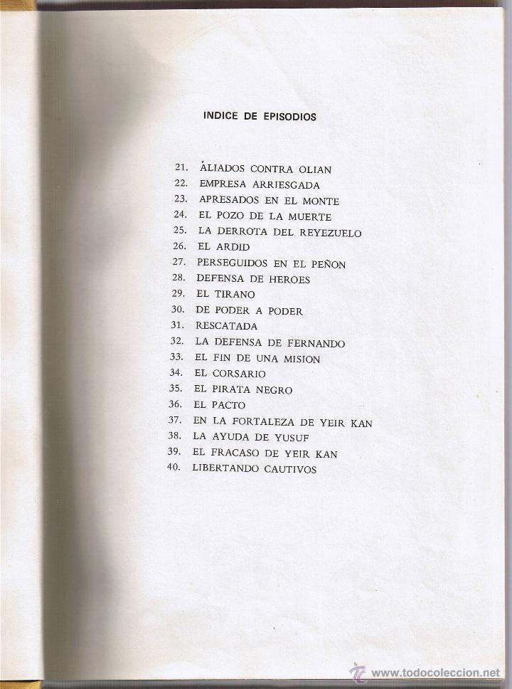 Tebeos: EL GUERRERO DEL ANTIFAZ - TOMOS 1 - 2 - 3 - 4 - 5 - 6 - EDIT VALENCIANA - 1972 - - Foto 9 - 42932207