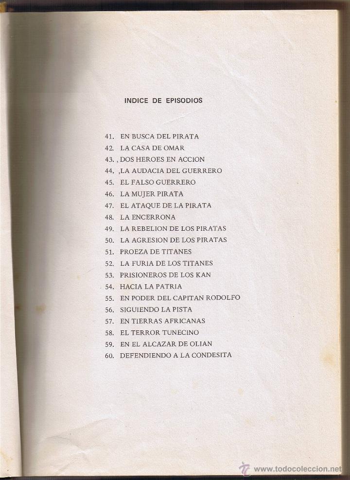 Tebeos: EL GUERRERO DEL ANTIFAZ - TOMOS 1 - 2 - 3 - 4 - 5 - 6 - EDIT VALENCIANA - 1972 - - Foto 14 - 42932207