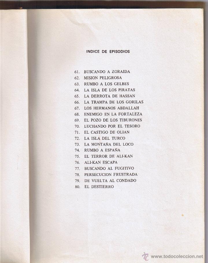 Tebeos: EL GUERRERO DEL ANTIFAZ - TOMOS 1 - 2 - 3 - 4 - 5 - 6 - EDIT VALENCIANA - 1972 - - Foto 19 - 42932207