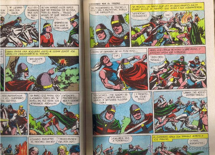 Tebeos: EL GUERRERO DEL ANTIFAZ - TOMOS 1 - 2 - 3 - 4 - 5 - 6 - EDIT VALENCIANA - 1972 - - Foto 20 - 42932207