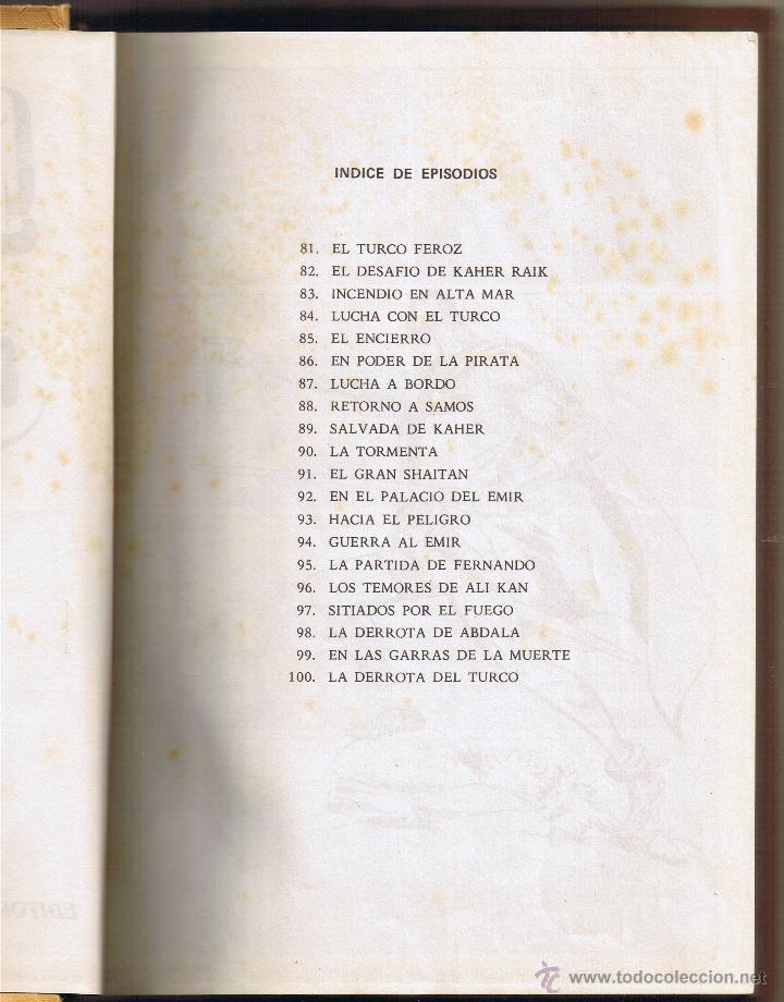 Tebeos: EL GUERRERO DEL ANTIFAZ - TOMOS 1 - 2 - 3 - 4 - 5 - 6 - EDIT VALENCIANA - 1972 - - Foto 24 - 42932207