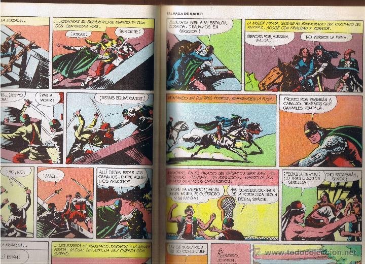 Tebeos: EL GUERRERO DEL ANTIFAZ - TOMOS 1 - 2 - 3 - 4 - 5 - 6 - EDIT VALENCIANA - 1972 - - Foto 25 - 42932207