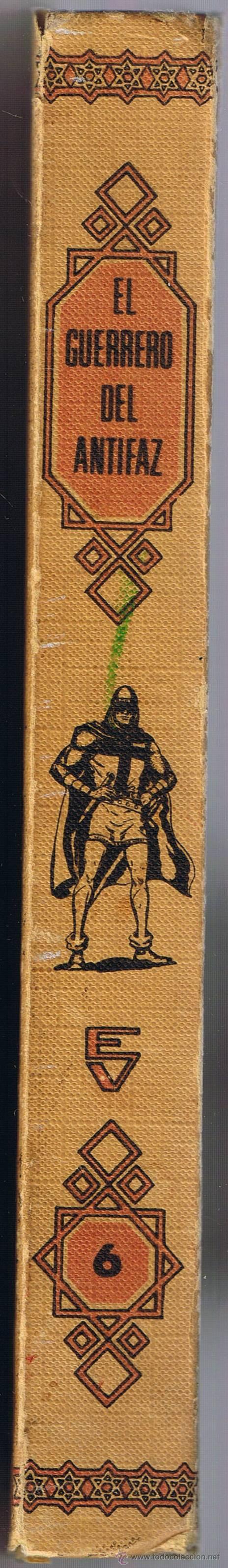 Tebeos: EL GUERRERO DEL ANTIFAZ - TOMOS 1 - 2 - 3 - 4 - 5 - 6 - EDIT VALENCIANA - 1972 - - Foto 28 - 42932207