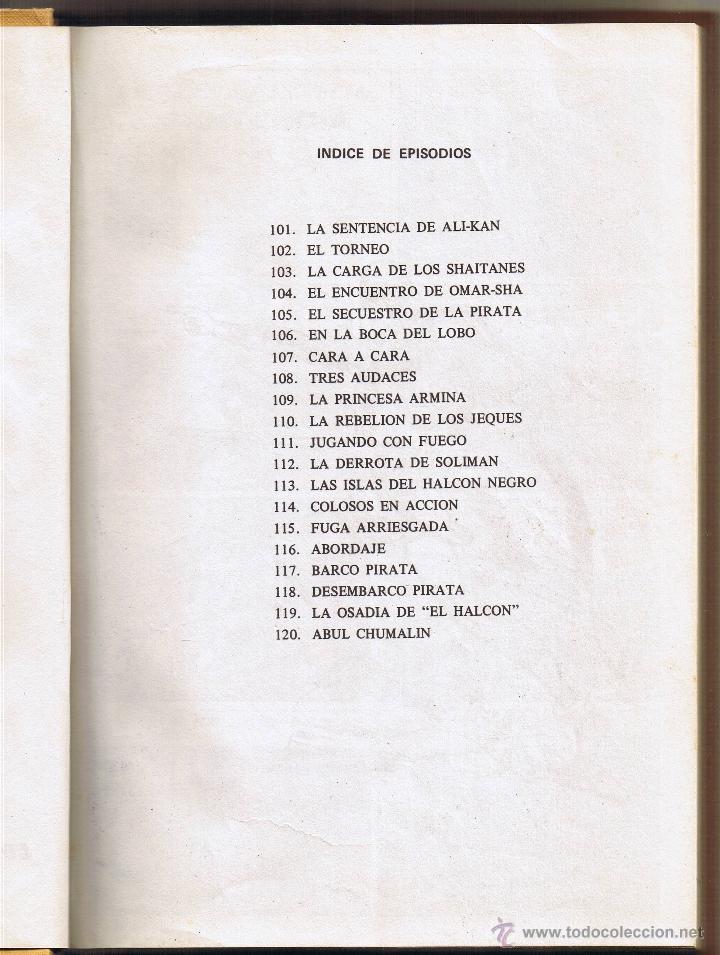 Tebeos: EL GUERRERO DEL ANTIFAZ - TOMOS 1 - 2 - 3 - 4 - 5 - 6 - EDIT VALENCIANA - 1972 - - Foto 29 - 42932207