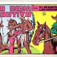 Tebeos: EL PEQUEÑO LUCHADOR Nº 5 LA INDIA CAUTIVA. Lote 42940476