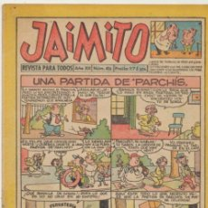 Tebeos: JAIMITO 416. VALENCIANA 1945. . Lote 43007483