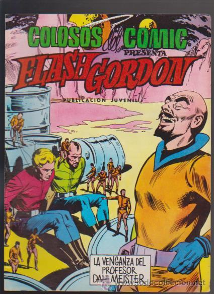 FLASH GORDON - Nº 20 - EDITORIAL VALENCIANA / COLOSOS DEL COMIC 50 PTS. (Tebeos y Comics - Valenciana - Colosos del Comic)