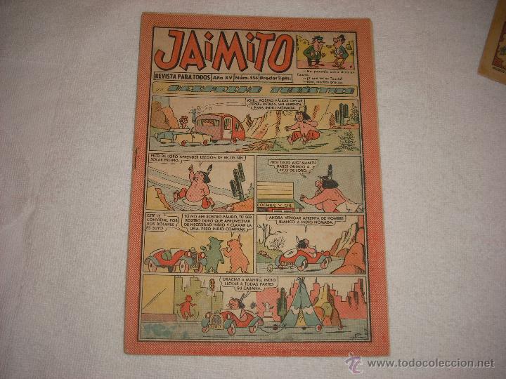 JAIMITO 556 (Tebeos y Comics - Valenciana - Jaimito)