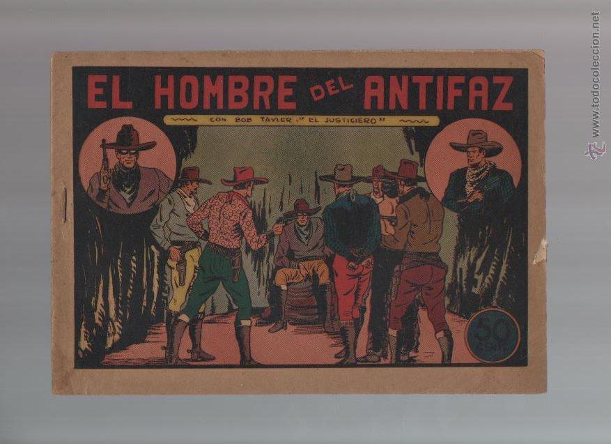 BOB TAYLER EL JUSTICIERO - ORIGINAL - NUMERO 2 - EST17 (Tebeos y Comics - Valenciana - Otros)