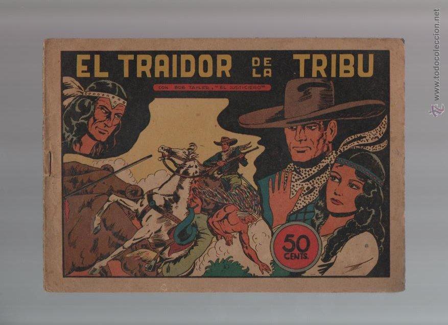 BOB TAYLER EL JUSTICIERO - ORIGINAL - NUMERO 5 -EST17 (Tebeos y Comics - Valenciana - Otros)