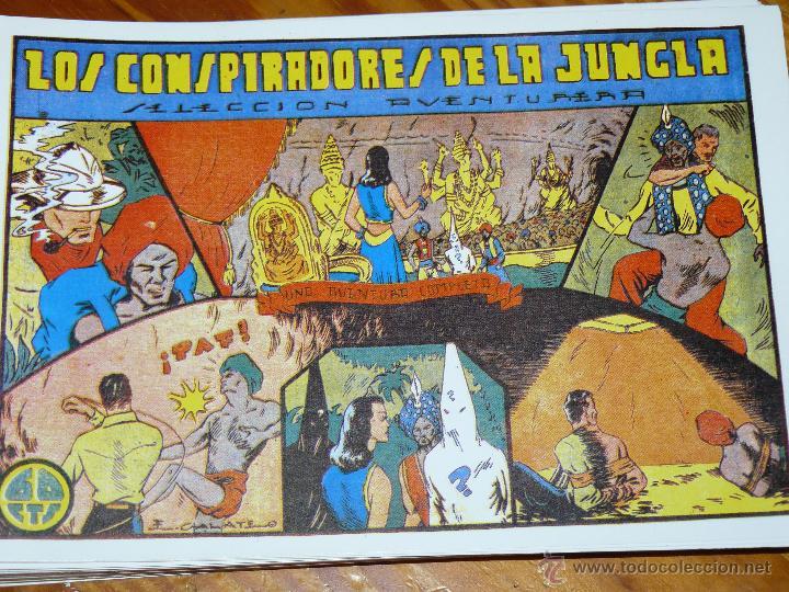 TEBEOS-COMICS CANDY - SELECCION AVENTURERA - Nº ? - 1941 - LOS CONSPIRADORES DE LA JUNGLA *BB99 (Tebeos y Comics - Valenciana - Selección Aventurera)