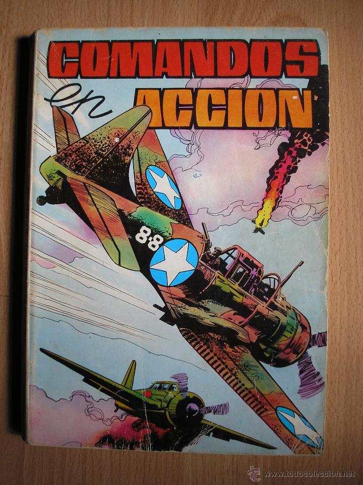 COMANDOS EN ACCION TOMO 2 (CONTIENE Nº 6, 7, 8, 10 Y 11) - POSIBILIDAD DE ENTREGA EN MANO EN MADRID (Tebeos y Comics - Valenciana - Otros)