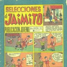 Tebeos: SELECCIONES DE JAIMITO Nº191. EDITORIAL VALENCIANA, 1973. Lote 43110892