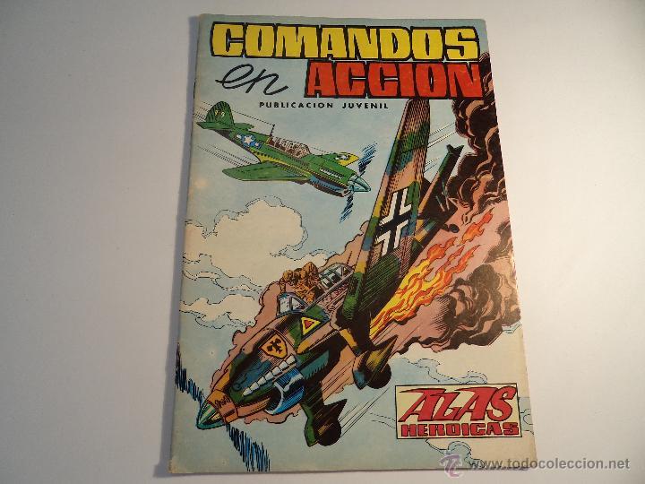 COMANDOS EN ACCION. Nº 2. VALENCIANA (A-4) (Tebeos y Comics - Valenciana - Otros)