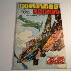 Tebeos: COMANDOS EN ACCION. Nº 2. VALENCIANA (A-4). Lote 43175944