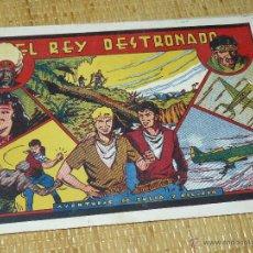 Tebeos: TEBEOS-COMICS CANDY - JULIO Y RICARDO - EL REY DESTRONADO - VALENCIANA - 1943 - MUY DIFICIL *BB99. Lote 43282868