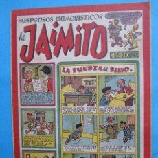 Tebeos: SUSPENSOS HUMORISTICOS DE JAIMITO , NUMERO 89- TERROR EN LAS TINIEBLAS - JOSE CRAU - VALENCIANA. Lote 43327248