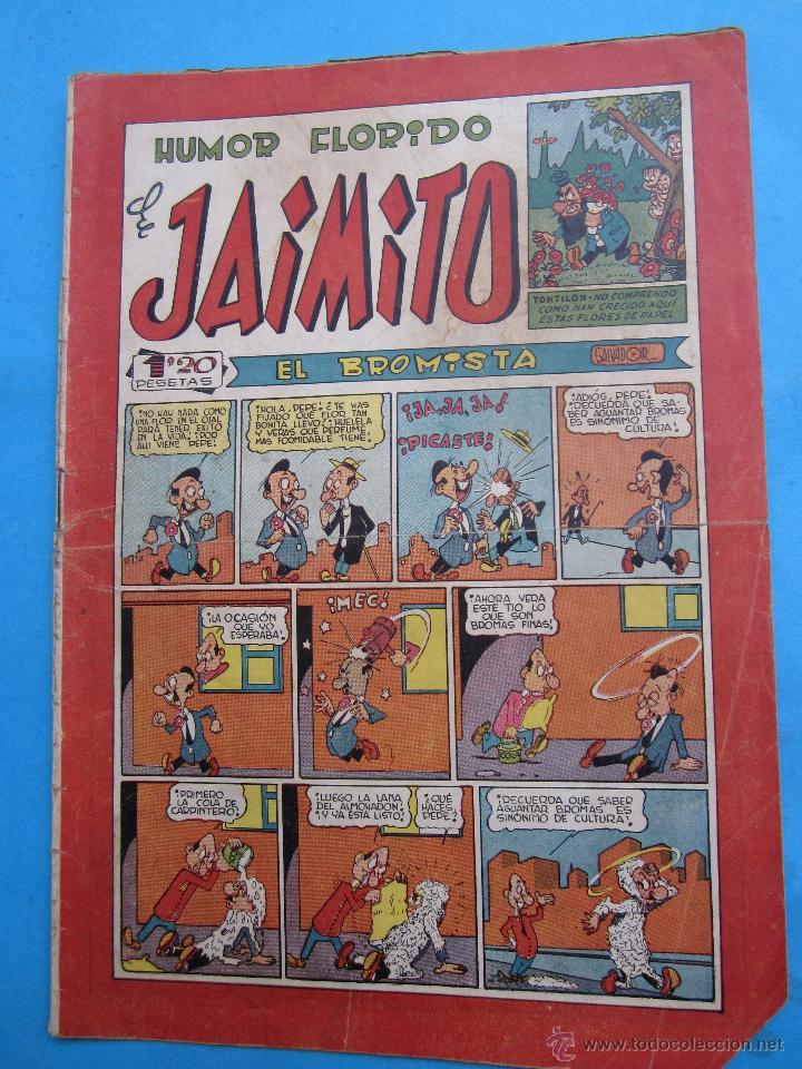 HUMOR FLORIDO DEJAIMITO , NUMERO 88 - EDITORIAL VALENCIANA (Tebeos y Comics - Valenciana - Jaimito)