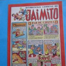 Tebeos: OCURRENCIAS COMICAS DE JAIMITO , NUMERO 75 - EDITORIAL VALENCIANA. Lote 43327791