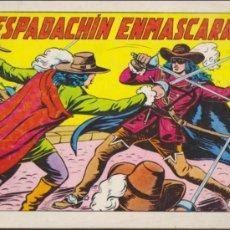 Tebeos: EL ESPADACHÍN ENMASCARADO 2ª. VALENCIANA 1981. LOTE DE 66 EJEMPLARES. Lote 38181583