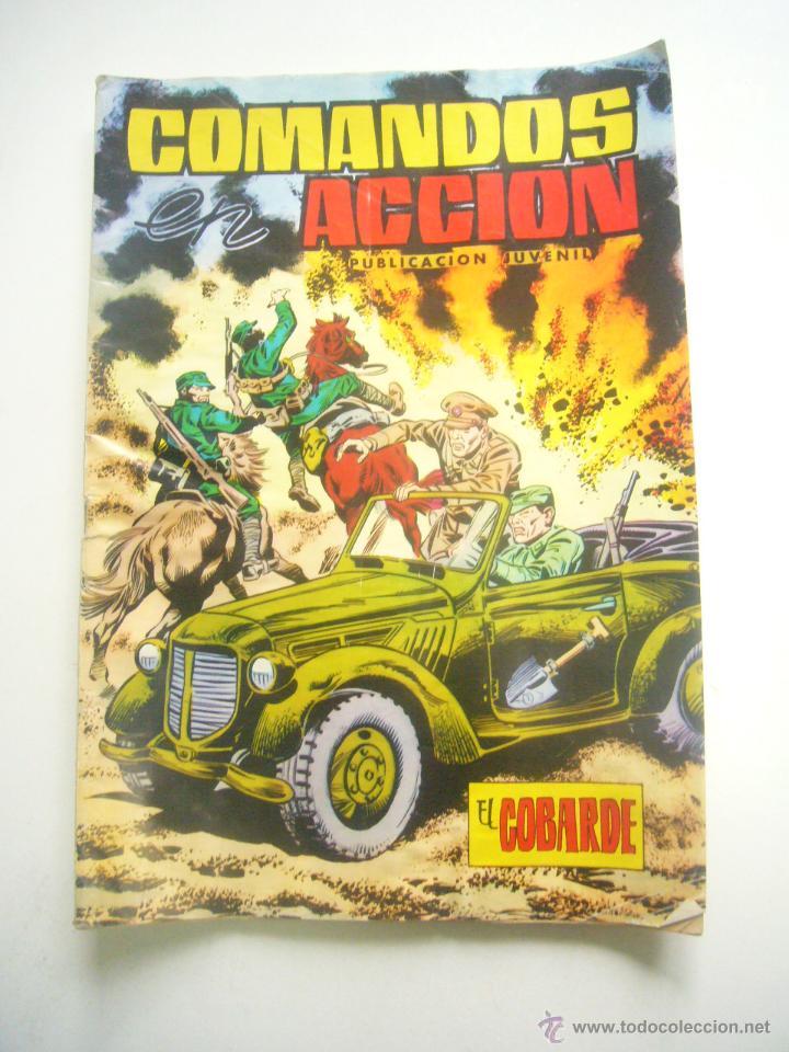 COMANDOS EN ACCIÓN Nº 20 EDITORIAL VALENCIANA 1979 C57 (Tebeos y Comics - Valenciana - Otros)