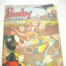 Tebeos: PUMBY Nº 587 VALENCIANA C57. Lote 43352324