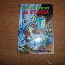 Tebeos: EL PRISIONERO DE ZENDA EDITORIAL VALENCIANA 1982. Lote 43366997