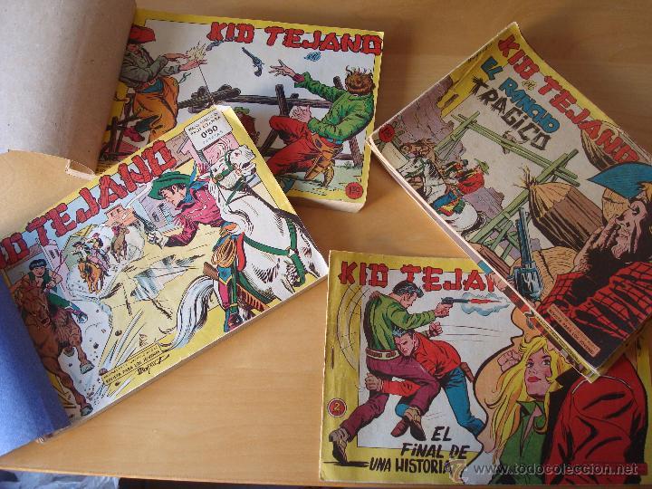 KID TEJANO ,COMPLETA.ORIGINAL (Tebeos y Comics - Valenciana - Otros)