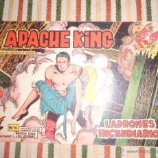 Giornalini: APACHE KING Nº 6 EDITORIAL VALENCIANA 1962. Lote 43410059