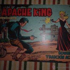 Tebeos: APACHE KING Nº 13 EDITORIAL VALENCIANA 1962. Lote 43410067