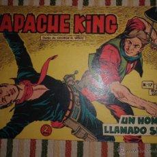 Tebeos: APACHE KING Nº 17 EDITORIAL VALENCIANA 1962. Lote 43410072