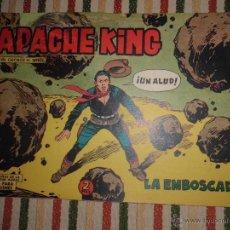 Tebeos: APACHE KING Nº 19 EDITORIAL VALENCIANA 1962. Lote 43410074