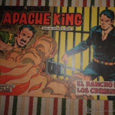 Tebeos: APACHE KING Nº 21 EDITORIAL VALENCIANA 1962. Lote 43410078