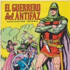 Tebeos: EL GUERRERO DEL ANTIFAZ. VALENCIANA 1972.LOTE DE 97 EJEMPLARES DEL 1 AL 100. FALTA:4,. Lote 43451434